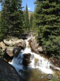 Love the waterfalls. Indian Peaks Wilderness.