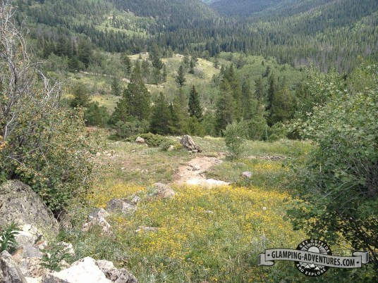 Great trails, Indian Peaks Wilderness.