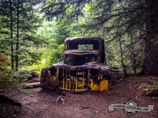 Abandoned truck, Indian Peaks Wilderness.