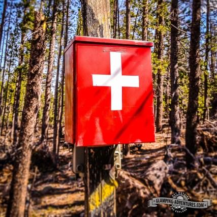 Hope we won't need to use it! Eldora Ski Resort.