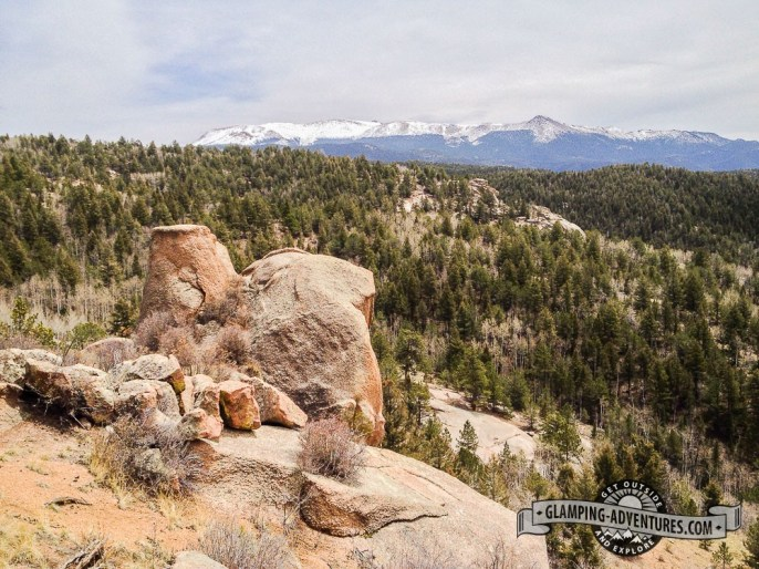 Red Tail Overlook, Mueller SP, CO.