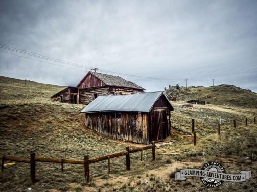 Homestead. Kenosha Pass, CO