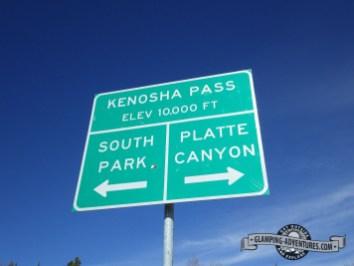 Rocky Mountain high camping! Kenosha Pass, CO