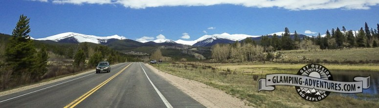 Beautiful drive home. Kenosha Pass, CO