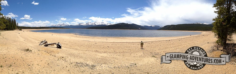 Hello beach! Turquoise Lake, Leadville, CO