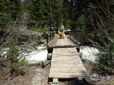 Love coming across bridges along the trails. Leadville, CO