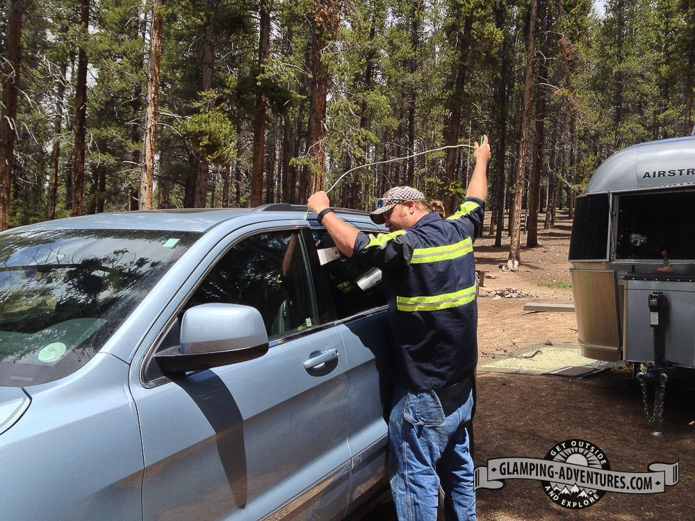 AAA to the rescue! Turquoise Lake, Leadville, CO