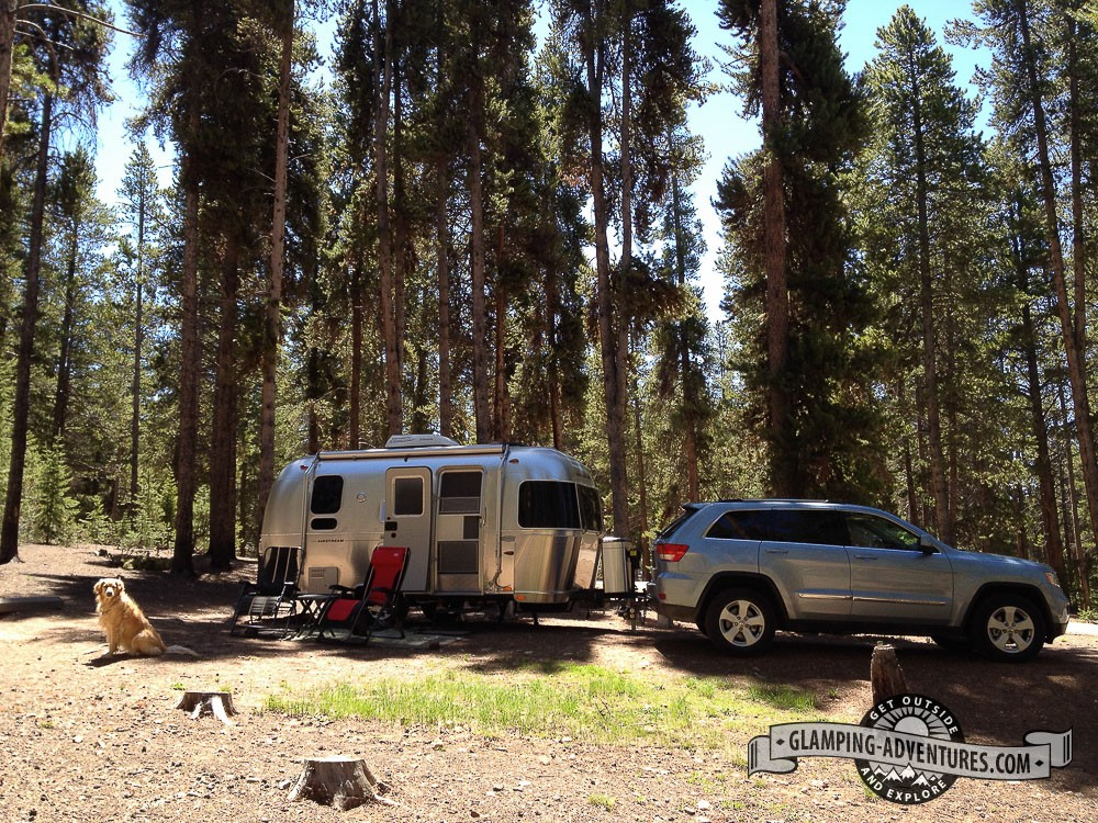 Baby Doe Campground. Turquoise Lake, Leadville, CO