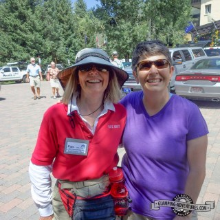 Our community host Pam, Vail CO.