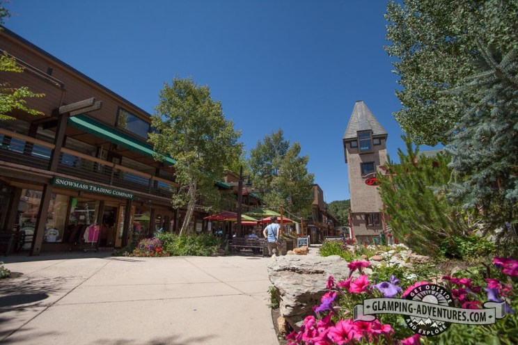 Downtown Snowmass.