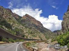 Glenwood Canyon.