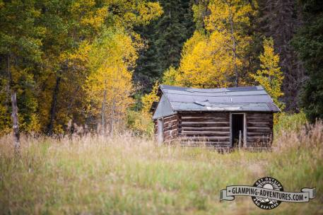 Homestead near the campground, West Brush Creek. Sylvan Lake S.P.