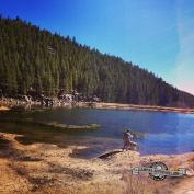 Dude's Fishing Hole. Snowshoe Hare Trail, Golden Gate Canyon S.P.