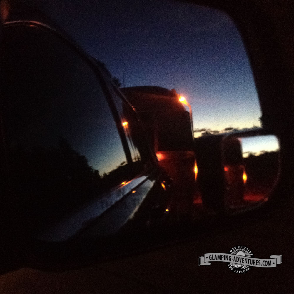 Heading back early Monday morning before work. The sun rise was amazing!