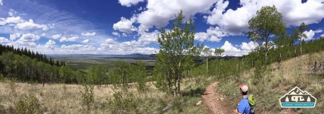 Hiking the CO Trail. Kenosha Pass, CO.