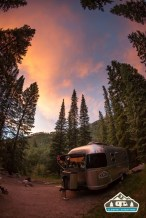 Wonderful sunset. Gore Creek CG, Vail CO.