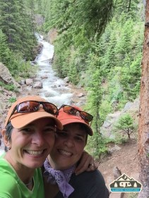 We made it! :) Booth Falls, Vail CO.