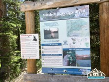 Mitchell Lake trailhead