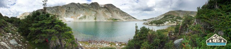 South Gap Lake , WY.