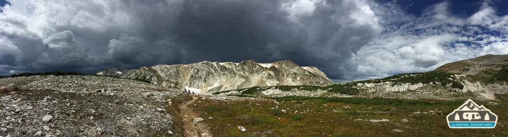 Storms coming to get us! RUN!!! South Gap Lake , WY.