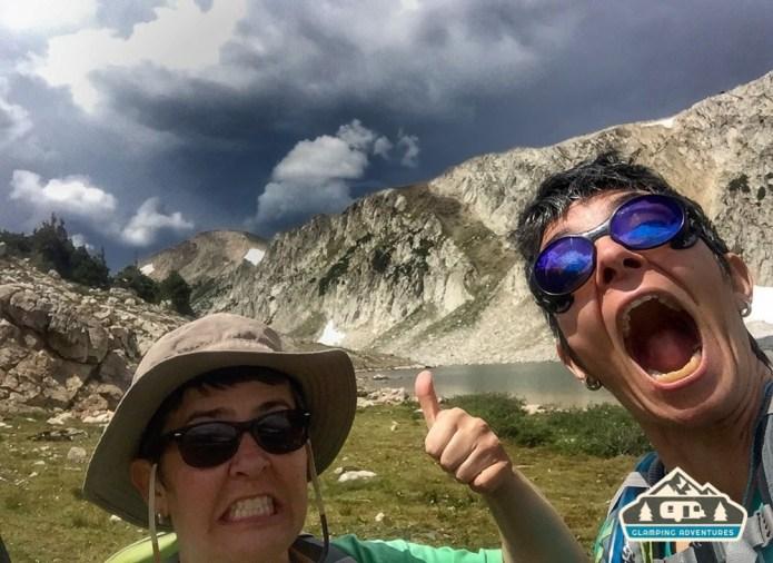 RUN!!! South Gap Lake, WY.