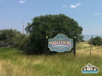 Entering Walden.