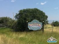Entering Walden.