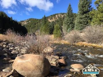 Boulder Creek. Rollinsville, CO