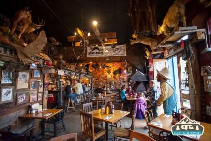 Handlebars Food & Saloon, Silverton, CO.