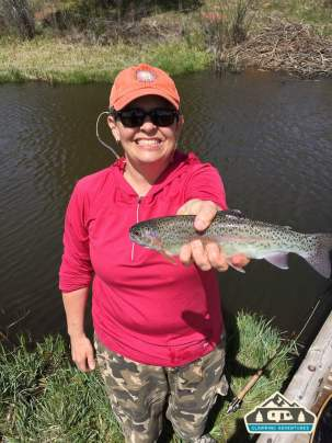 Nice Rainbow Trout! Manitou Recreational Area, CO.