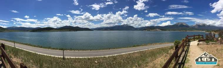 Bike trail that goes from Dillon to Frisco.