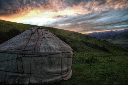 at-bashi yurt camp iron horse nomads