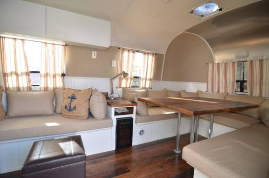 living airstream interior