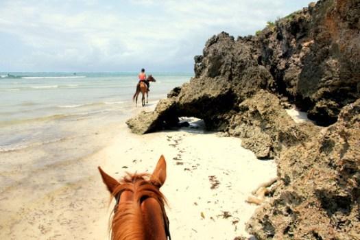 8. Horseback riding Diani Beach -HoneyTrek.com