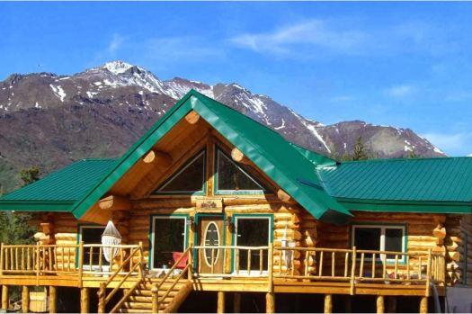 Alaska's Log Cabin Wilderness Lodge