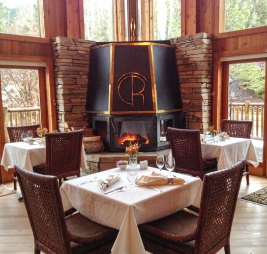 Triple Creek dining room