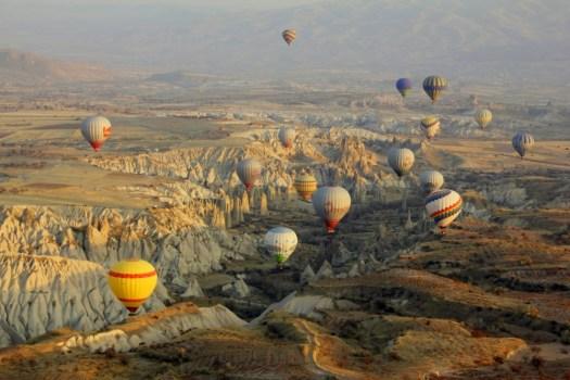 10 kapadokya balloons