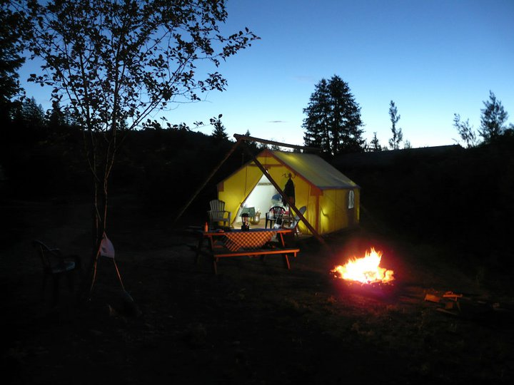 Gl&ers with disabilities who want a taste of the Old West will want to check out the luxury gl&ing tents at Moose Creek Ranch in Victor Idaho. & Glamping for the Disabled Now Enabled by Thoughtful Resort ...
