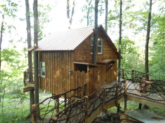 White oak Treehouse - The Mohicans