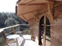 Cabane de La Vilaine 2 personnes au glamping Le Pertuis du Rofo à Nivillac Bretagne