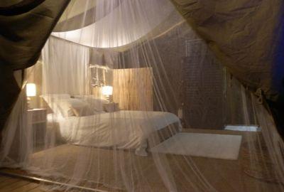 Chambre au glamping Bô Zen Lodge à Biarritz en Aquitaine