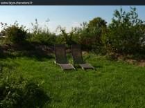 Un environnement calme, reposant et 100% nature au glamping La Yourte Nature à Fourneaux en Basse-Normandie