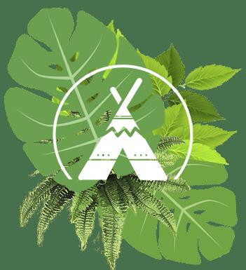 Logo glamping y camping 3