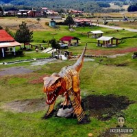 """Dinosaurios en """"Centro recreativo Rancho Viejo"""" en la Marqueza Chalma, Ocoyoacac, Estado de México"""