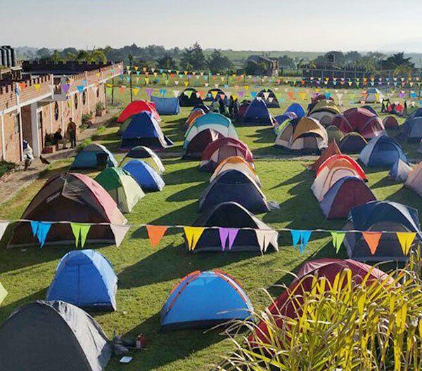 Camping, Cabañas y actividades grupales en «ABEKANY CAMP» en Tepotzotlán, Edomex, necesaria reservación.
