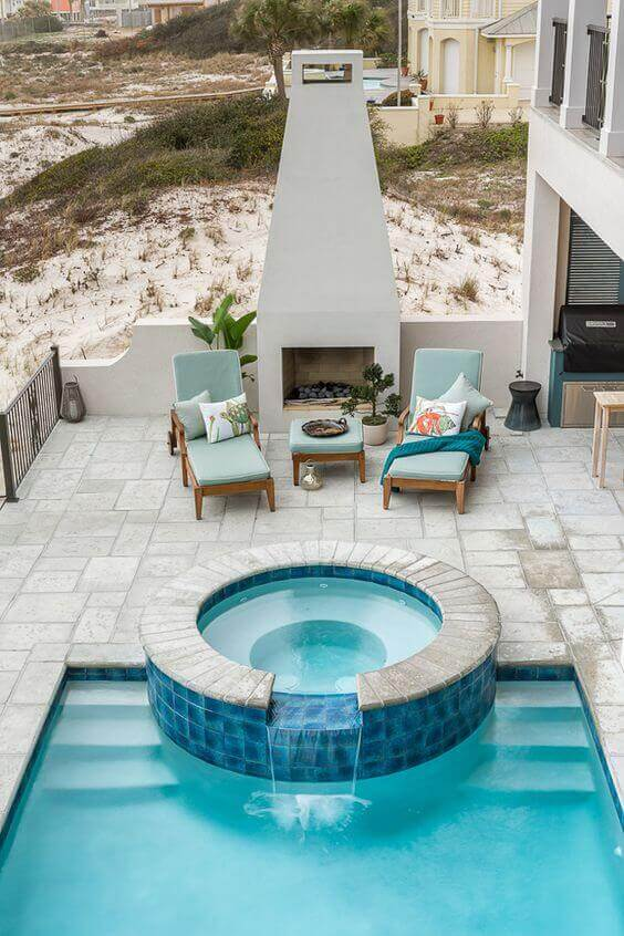 33 Swimming Pool With Jacuzzi Design Examples