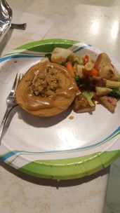 This is the epic tofurkey! We live in a household with two vegetarians and a meat eater. Everybody enjoyed it!