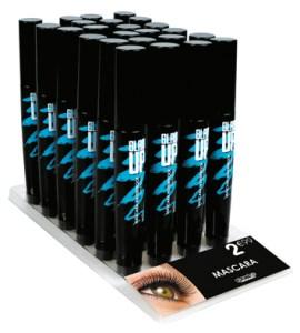 display mascara waterproof Glam'Upf
