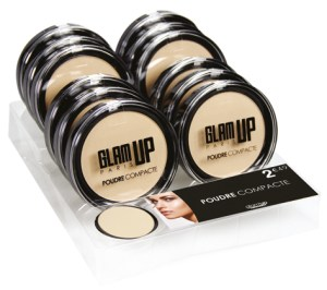 display poudre compacte Glam'Up