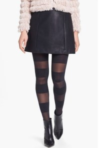 Alice + Olivia by Pretty Polly Glitter Horizontal Tights $48